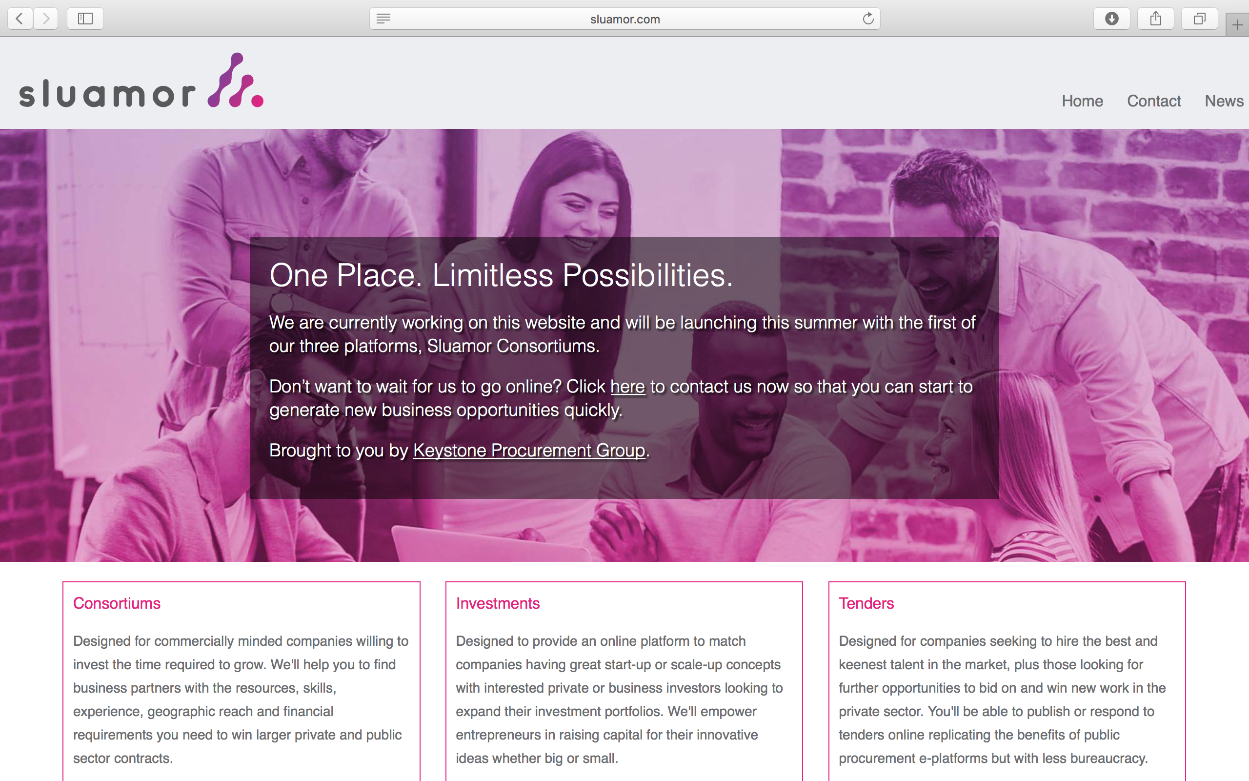 Introducing Sluamor – One Place. Limitless Possibilities